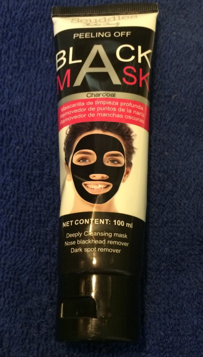 Skin Care Reviews: Scuddles Black Mask Blackhead Remover Purifying Peel Off Mask