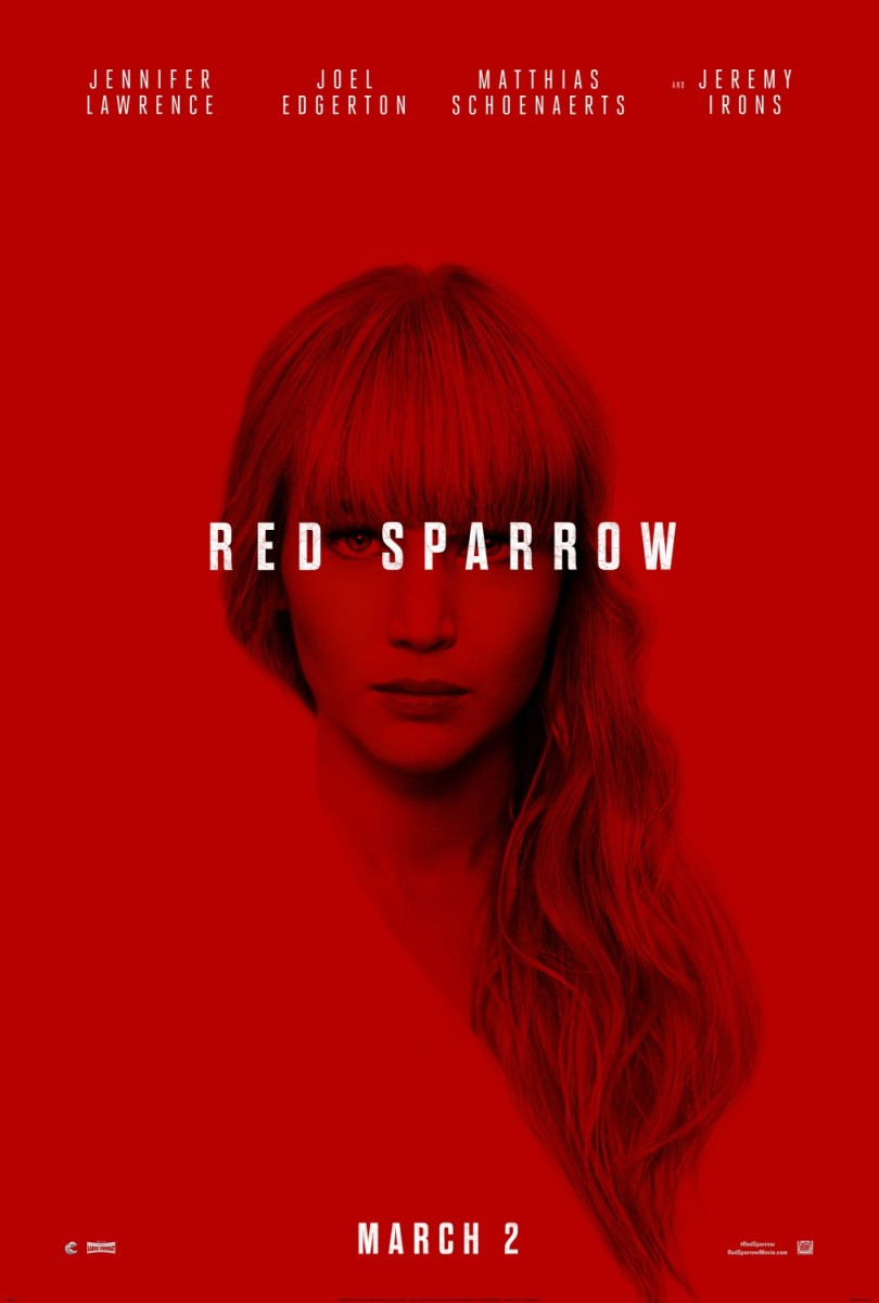 "Movie Review: ""Red Sparrow"""
