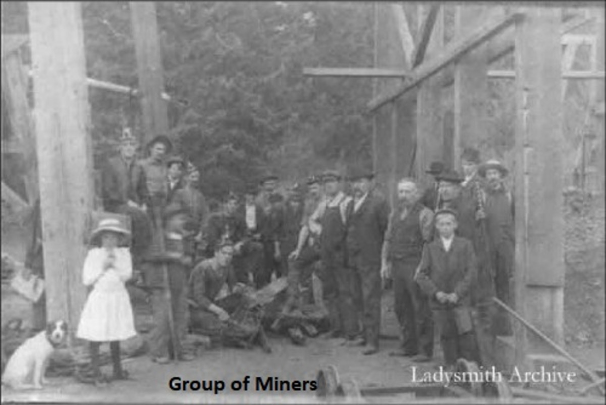 Miners' Wives: The Ladysmith Strike of 1913