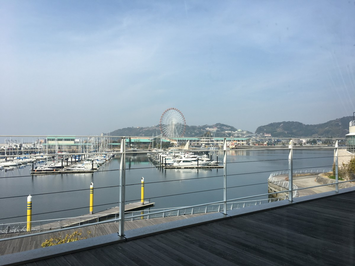 The city of Gamagori, being located bayside, has a lot of scenery and activities that take advantage of its location.