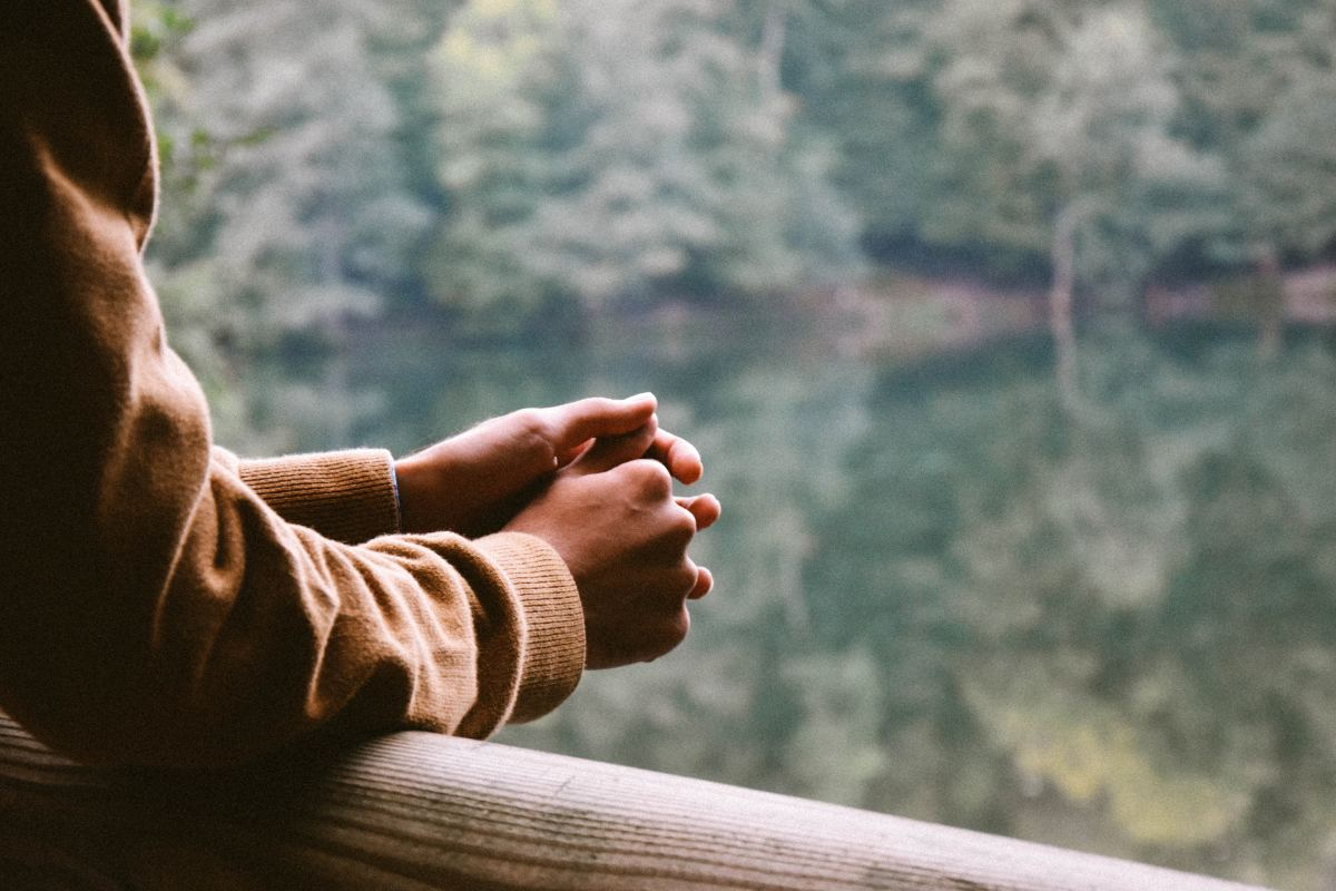 Mediation and prayer are both helpful in slowing down negative thoughts and putting social situations in perspective.
