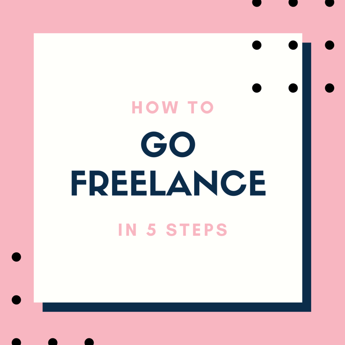 Go from food stamps to freelance in five steps!