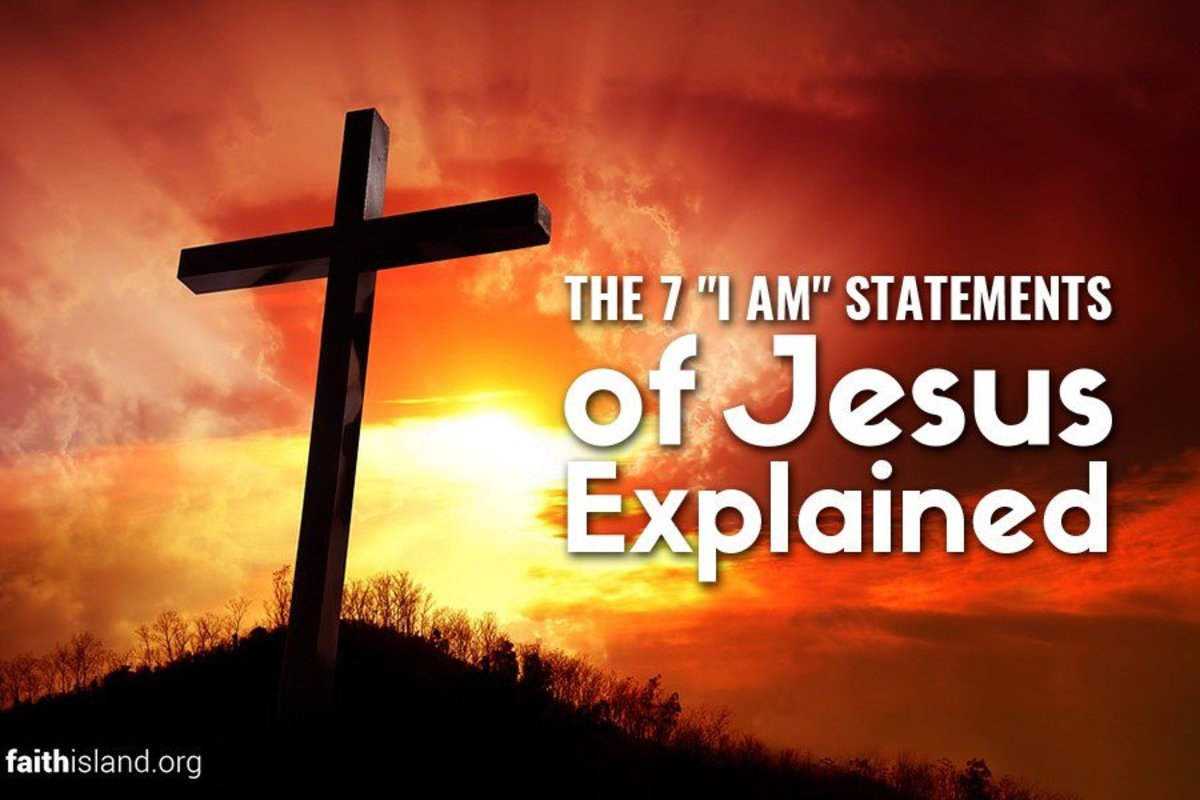 Jesus made seven statements about who He was.