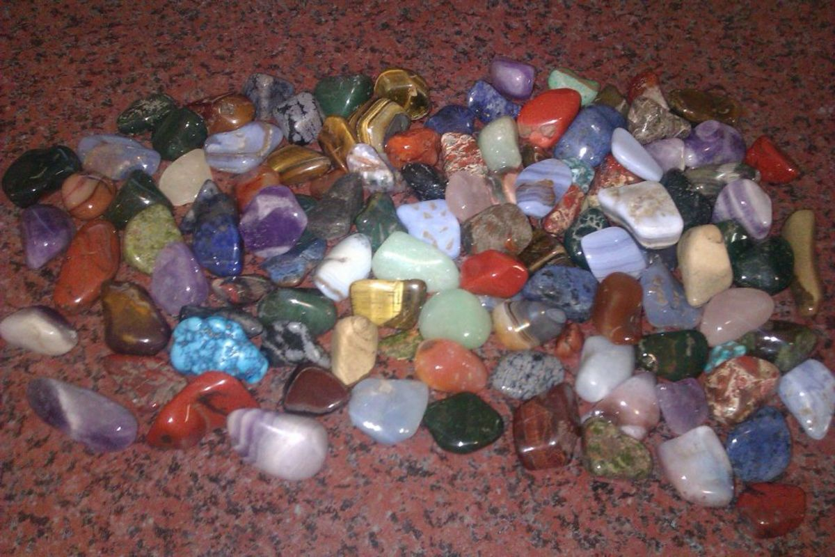There is a huge variety of crystals used in healing, each with its own beneficial properties.