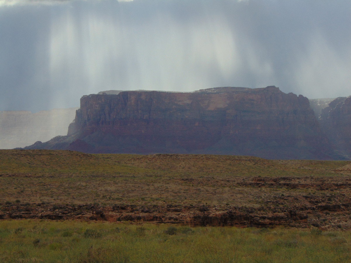 And we went down the narrow canyon anyways. Luckily the flash flood came while we were in camp.