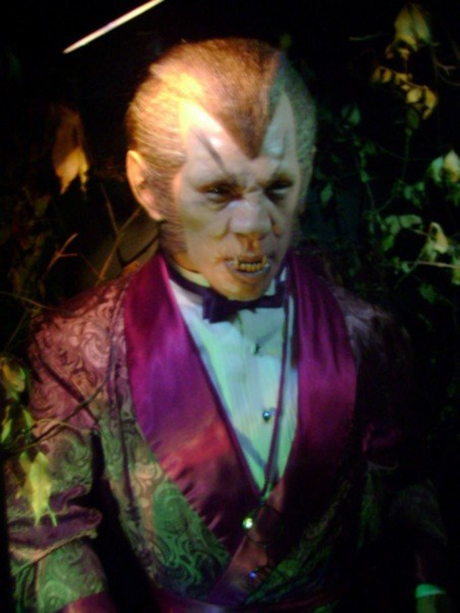 Dr. Wilfred Glendon, The Werewolf of London at the Witch's Dungeon Classic Movie Museum.