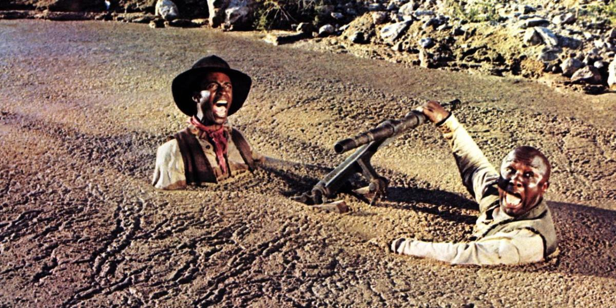 Blazing saddles, the movie
