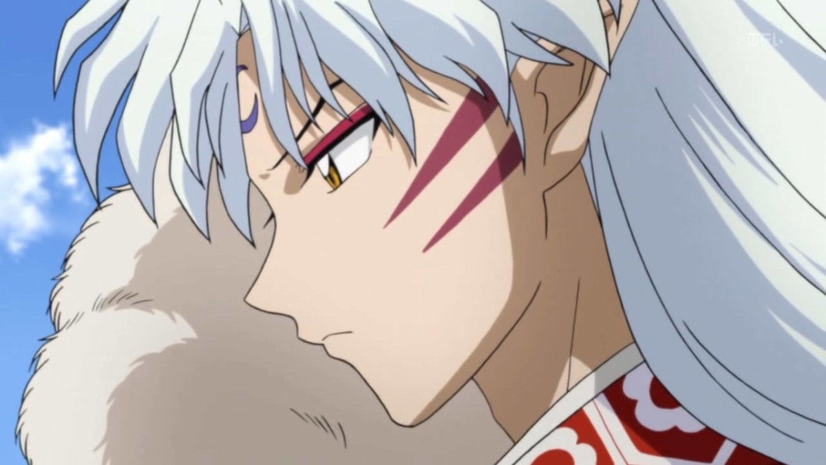 Shout-out to fellow Hubber Ayu for mentioning Sesshomaru, one of the sexiest male kuuderes in... ever!