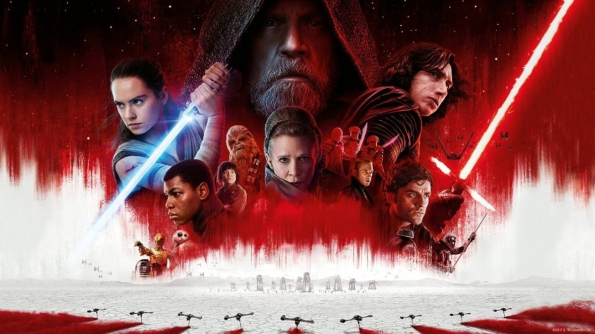 Star Wars: The last Jedi (Movie Poster)