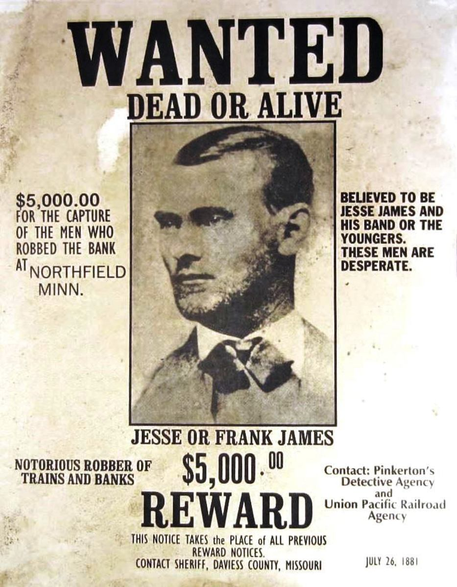 Jesse James Outlaw Treasure Tales of Oklahoma