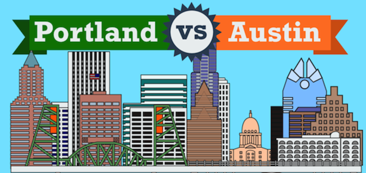 Top 7 Similarities Between Portland and Austin
