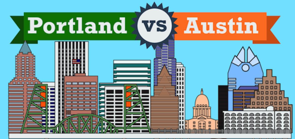 Top 7 Similarities Between Portland and Austin