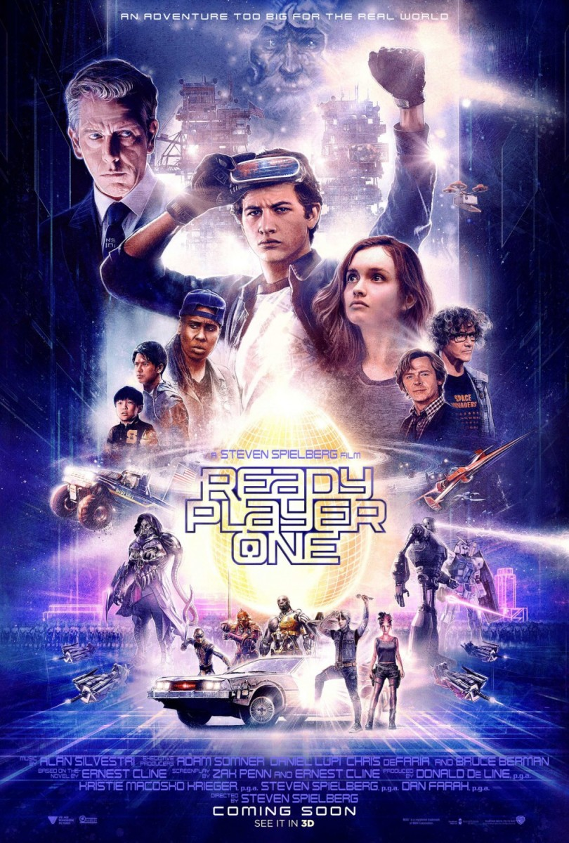 "Movie Review: ""Ready Player One"""