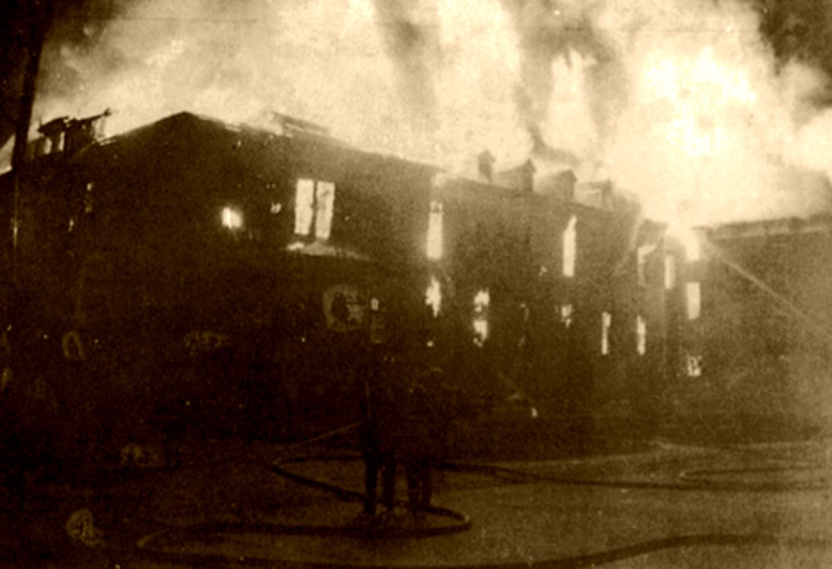 The 1949 St Anthony Hospital Fire In Effingham Illinois