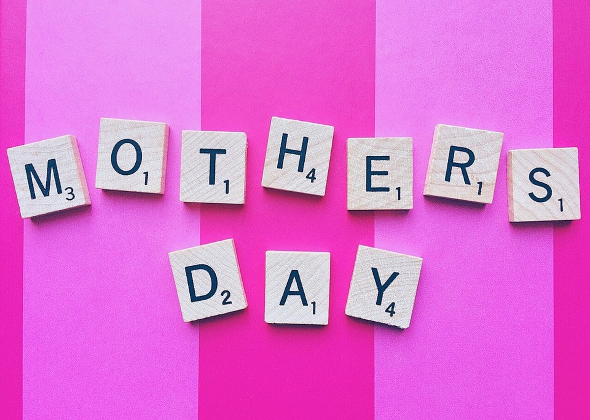 Mother's Day is on the second Sunday in May.