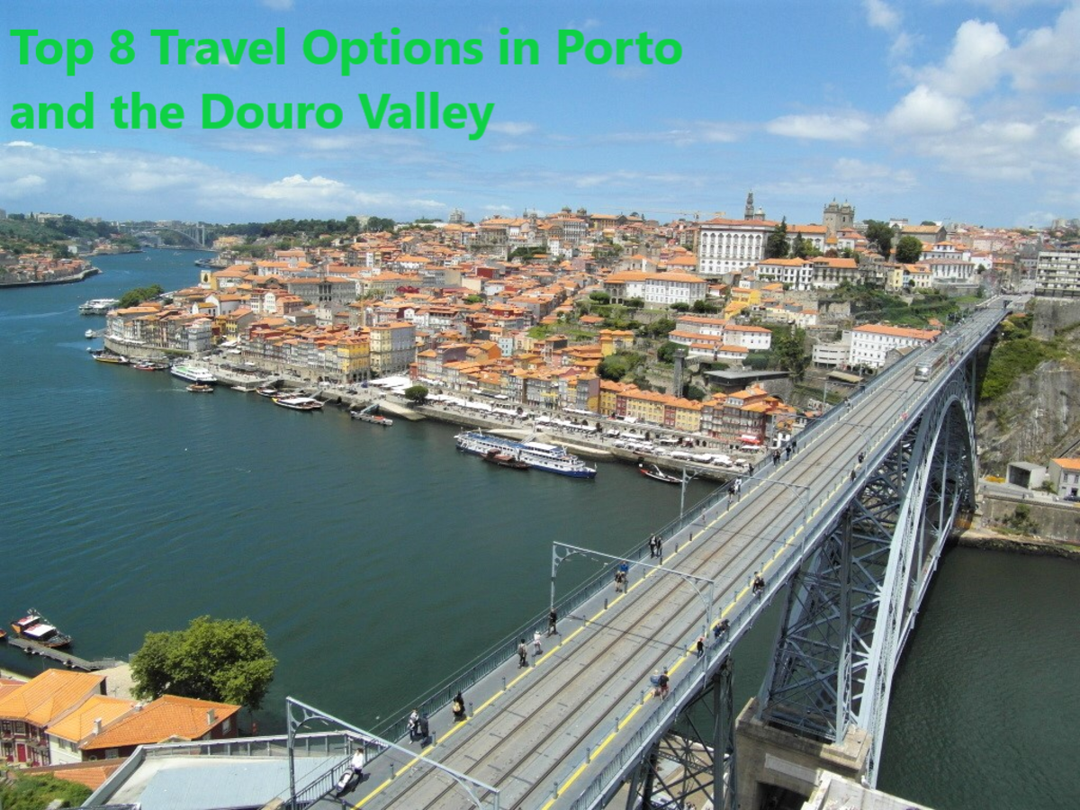 Top 8 Travel Options in Porto and the Douro Valley