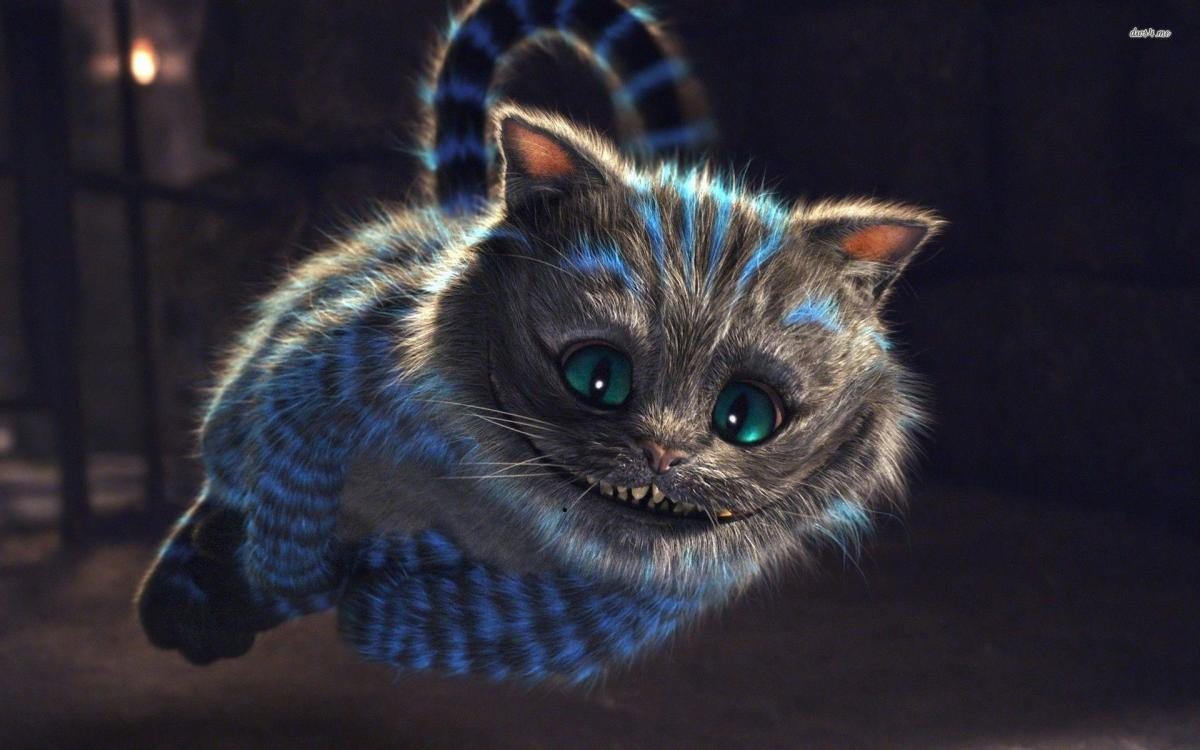Happy as a Cheshire cat chasing a fleet of mice.