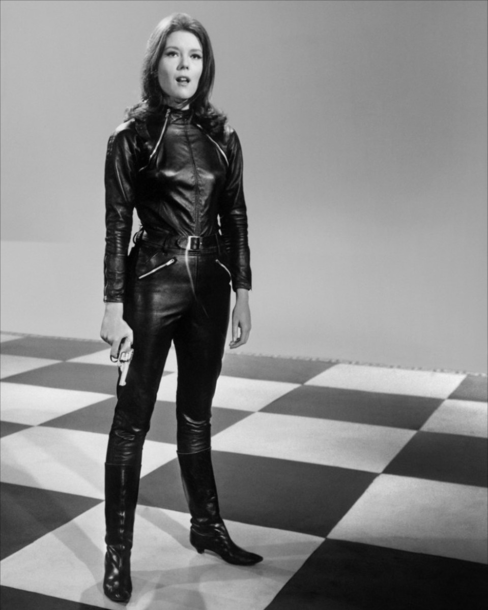 Emma Peel: spy, lover of leather pantsuits and wholly independent.