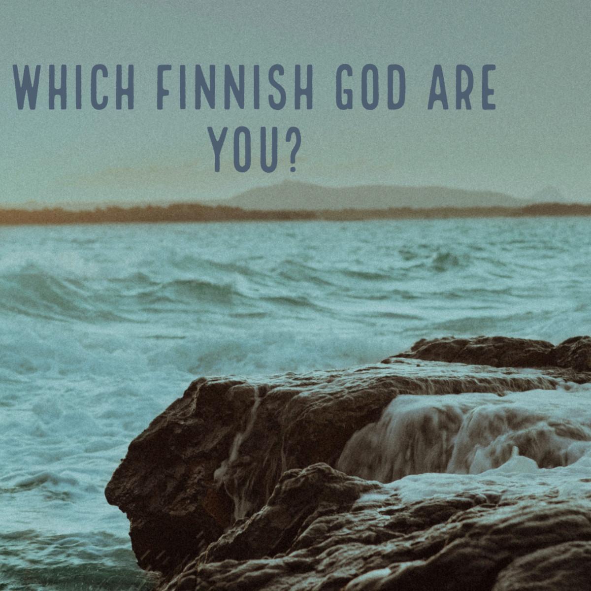 Finnish mythology encompasses deep, shamanic layers.