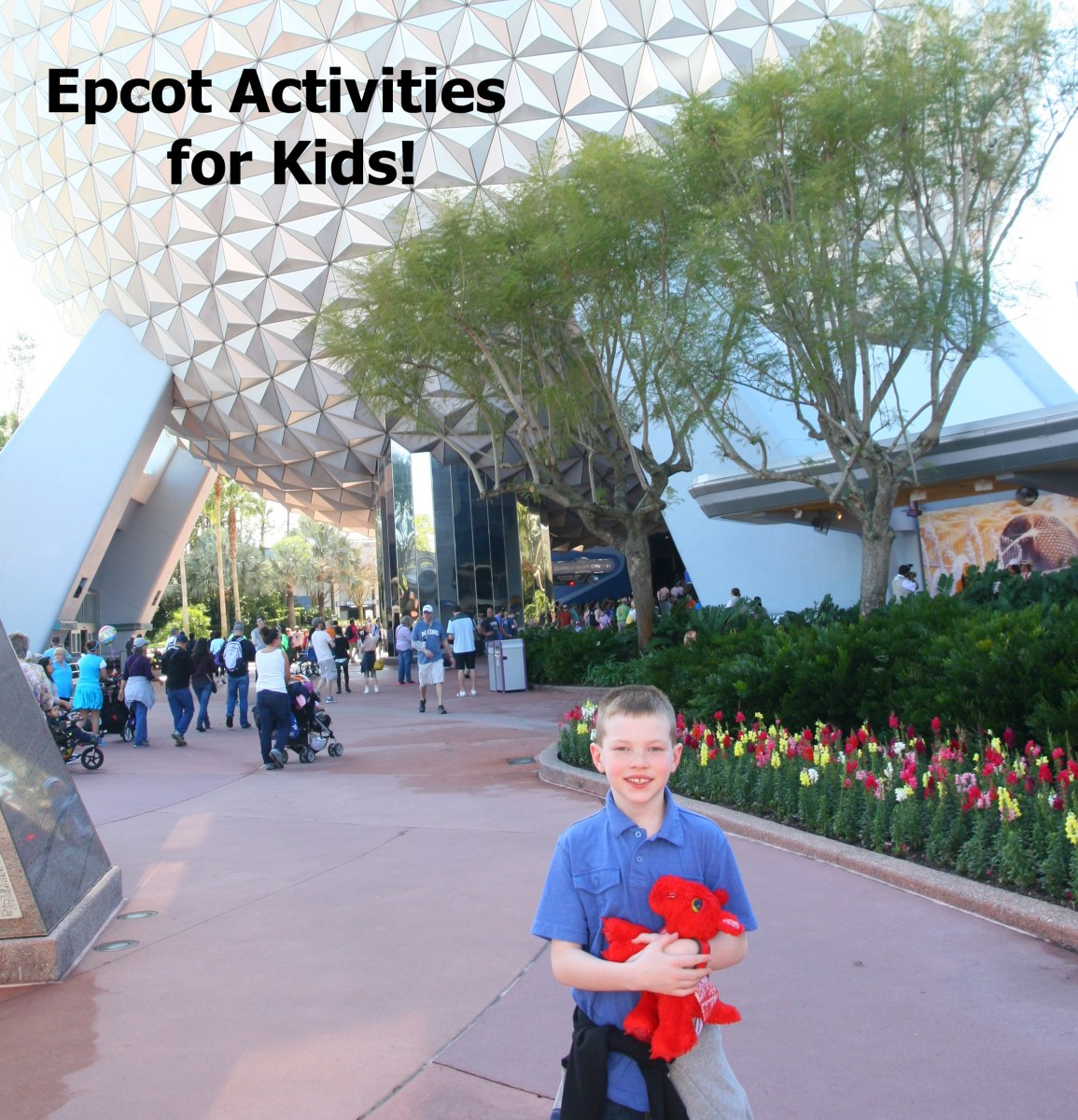 My kids have always loved Epcot. My oldest son's favorite ride is Test Track, and he loves trying different foods around the World Showcase.