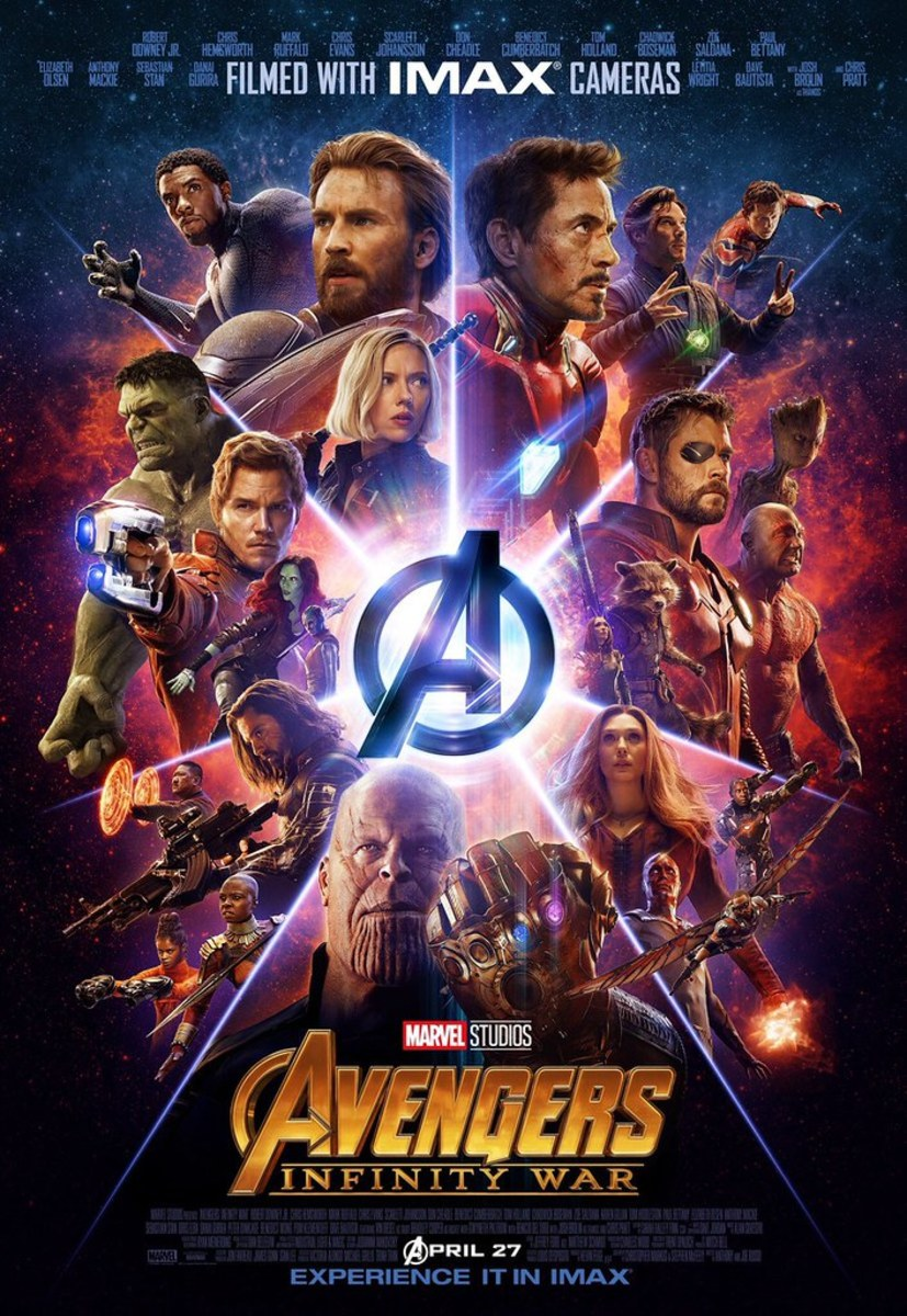 My Review of Avengers: Infinity War (2018)
