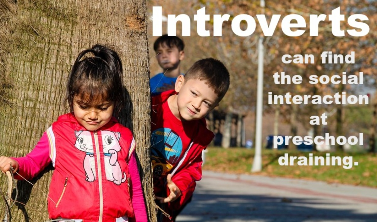 When parenting preschoolers who are introverts, it's important to pick a school that acknowledges their unique needs.