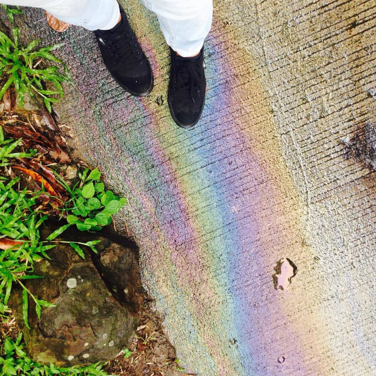 Rainbows at Your Feet
