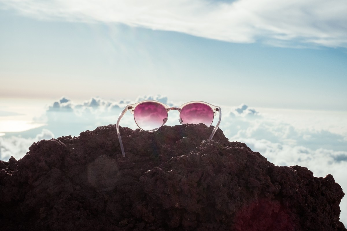 Come back down to Earth and stop looking through those rose coloured glasses...