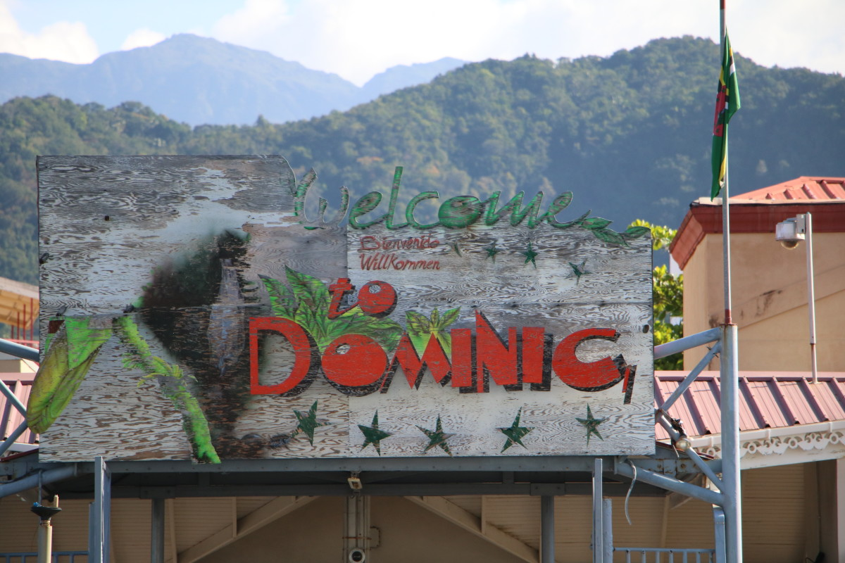 Dominica is a mountainous, lush island in the Caribbean and is my personal favorite in the Southern Caribbean.