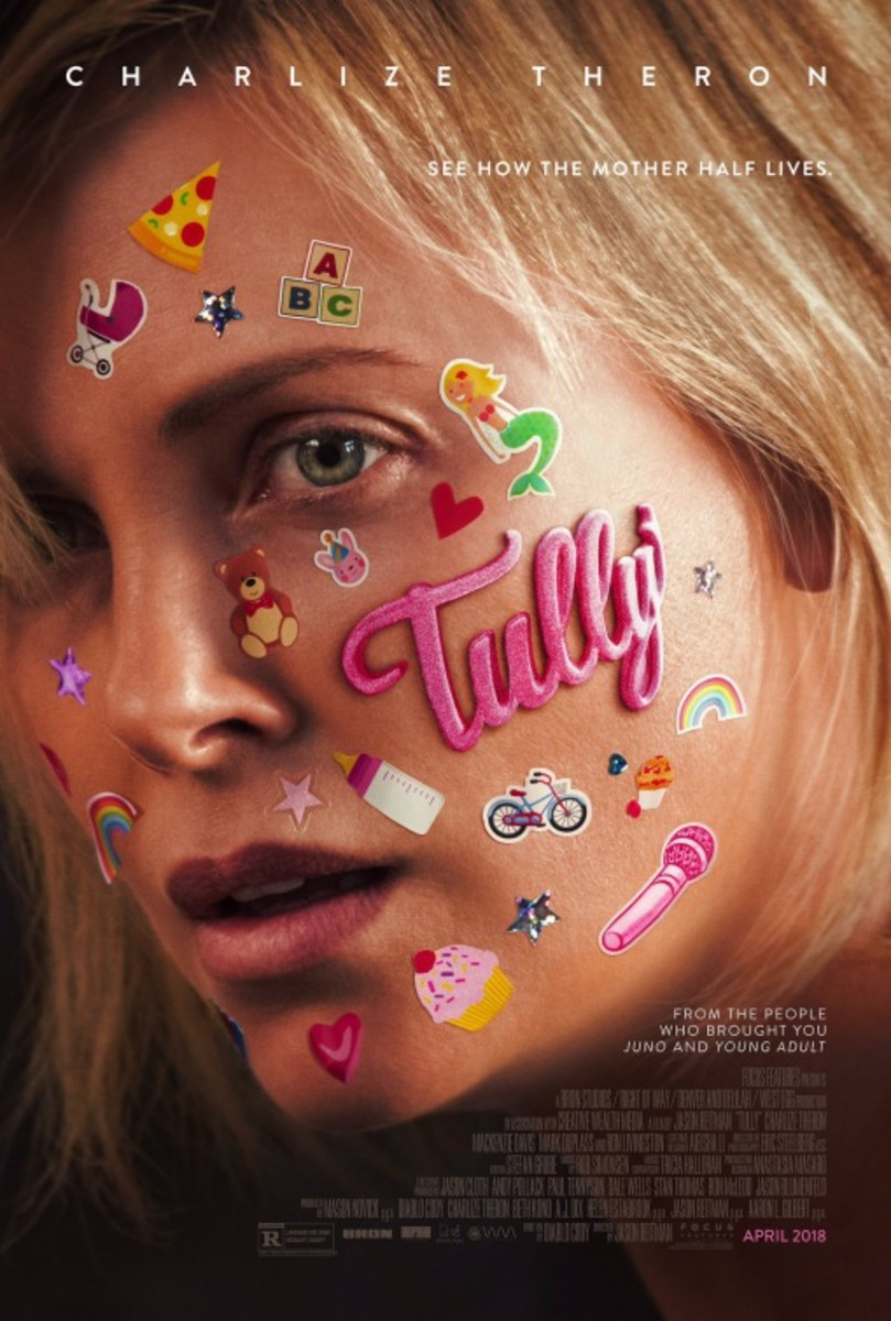 "The official theatrical poster for, ""Tully."""