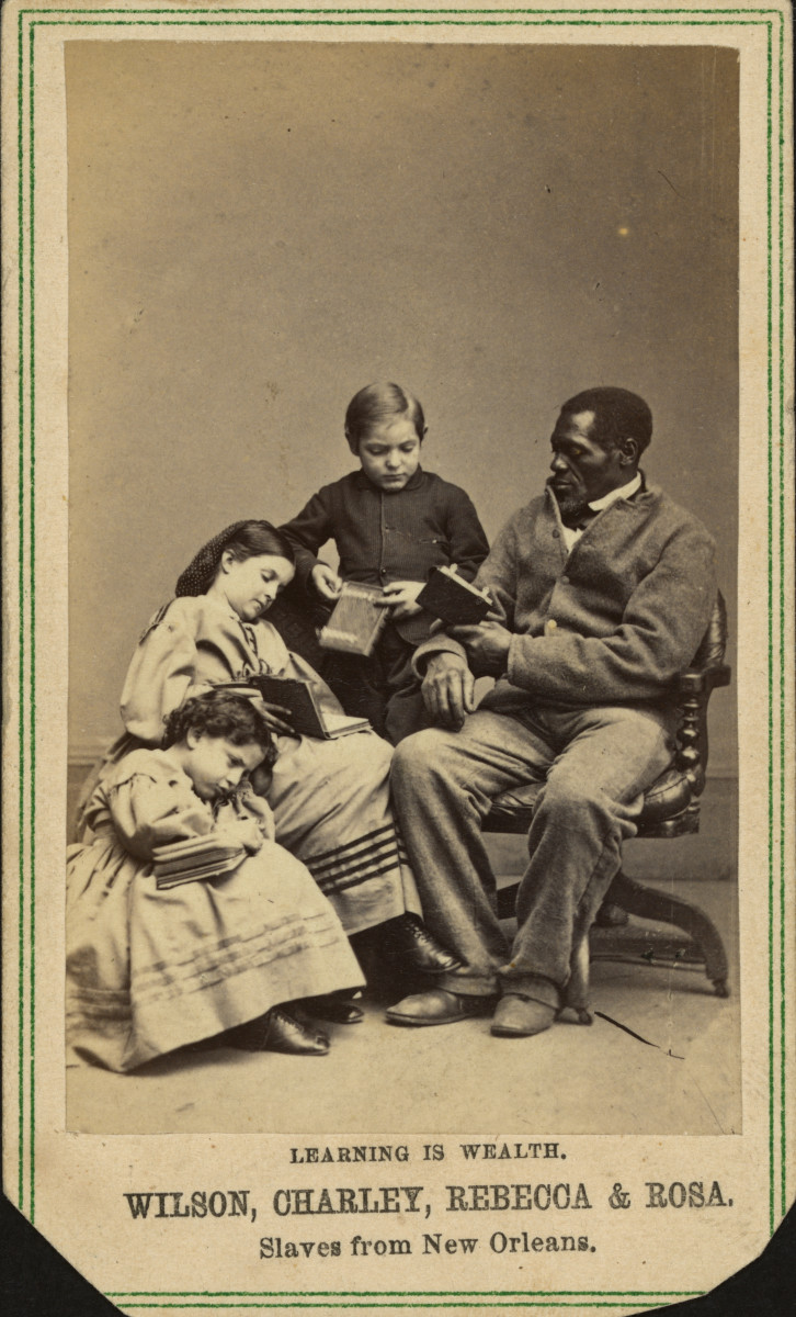 We Were Slaves: Be Proud of Our Heritage and Strength