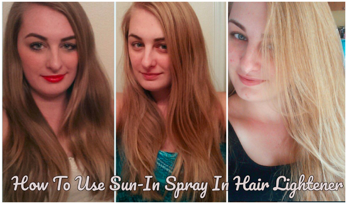 How to Lighten Your Hair Using Sun-In Spray Hair Lightener
