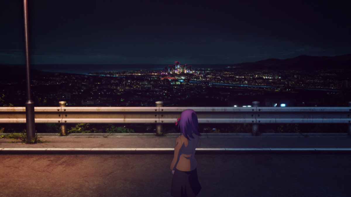 An unnerving premonition reaches Sakura--somewhere in the city, Shirou is in danger.