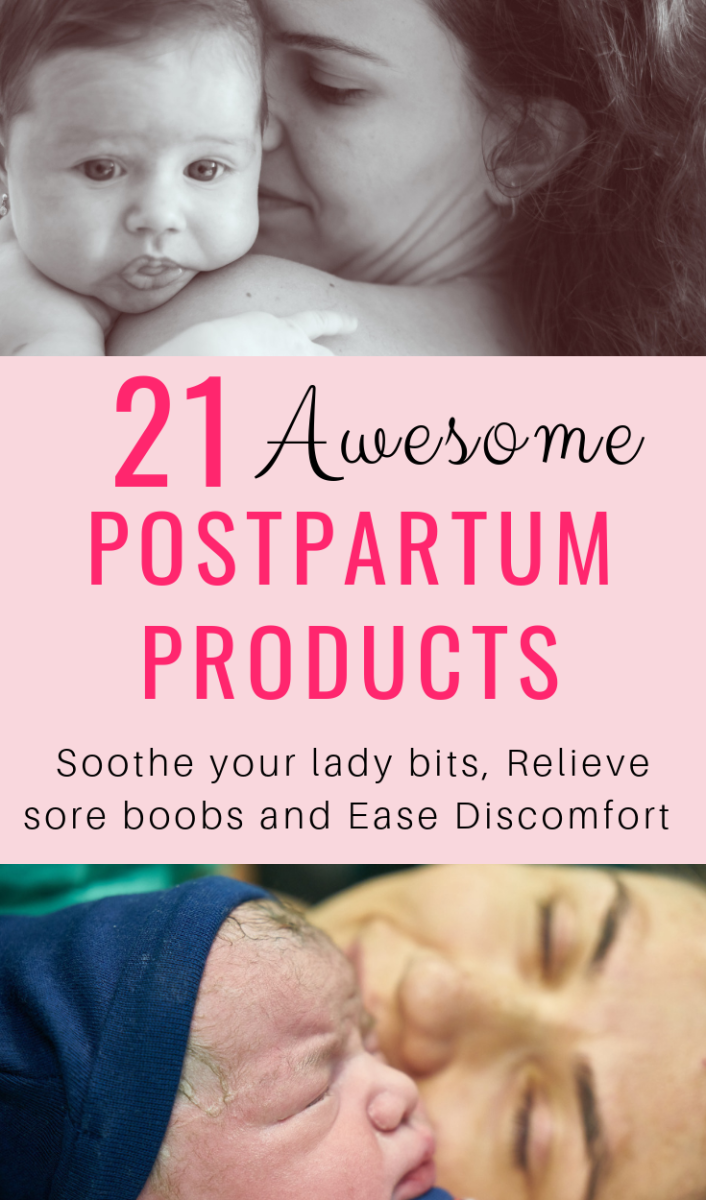 21 Postpartum Products for Vaginal Birth, C-Section, and Nursing Moms