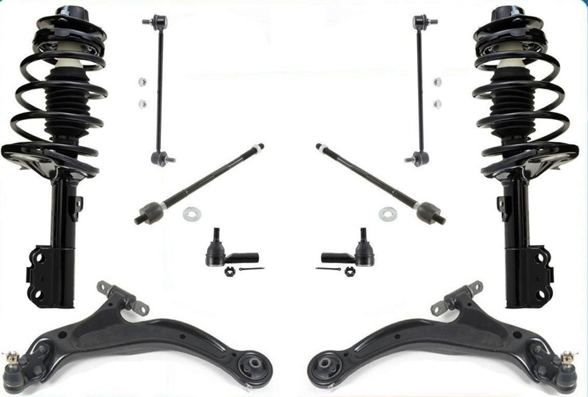 Suspension Replacement on a Toyota or Lexus:  Strut, Lower Ball Joint, Lower Control Arm, and Sway Bar Link (With Video)
