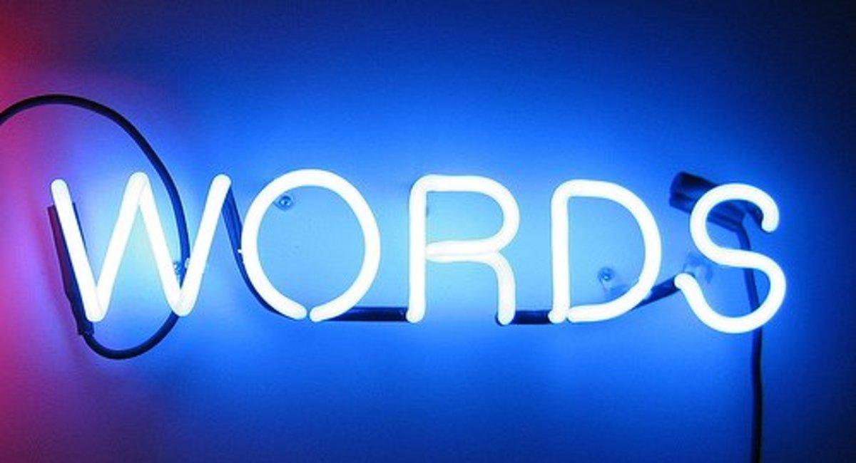 An Alphabet of Weird Words