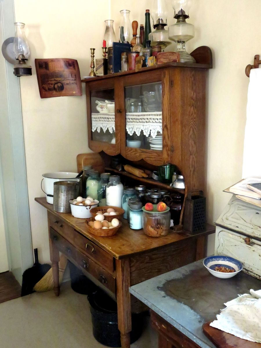 Part of the Authentic Kitchen of the Living History Farm
