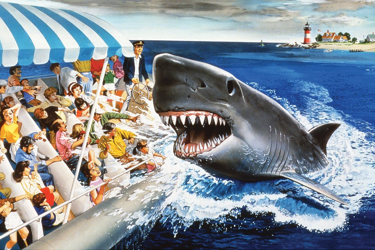 We'll Be Shark Bait in Ten Minutes! A Brief History of Jaws, the Ride