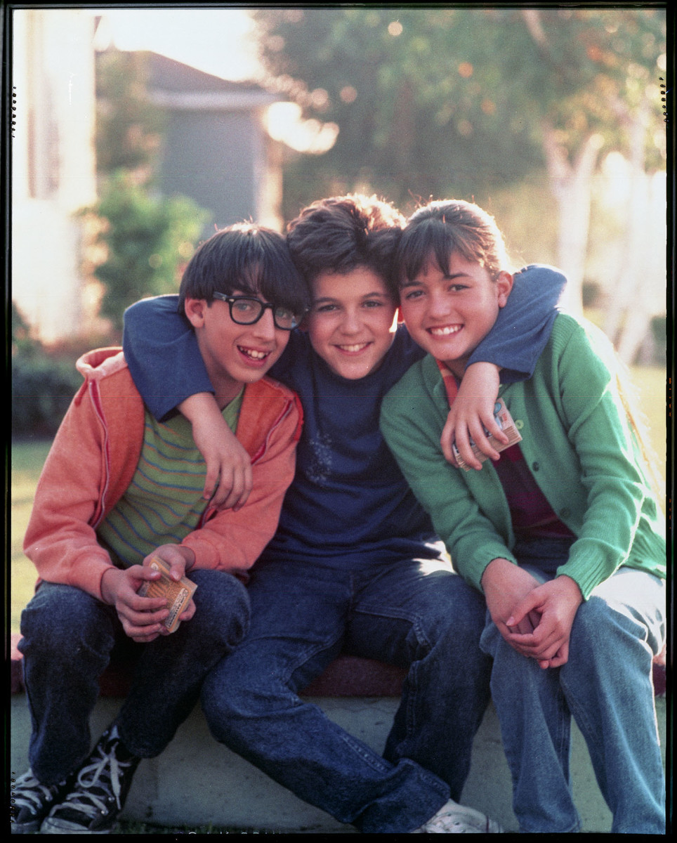 Paul Pfeiffer, Kevin Arnold, and Winnie Cooper (Josh Saviano, Fred Savage,and Danica McKellar)