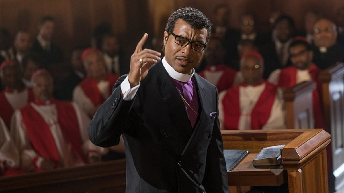 "Chiwetel Ejiofor plays the central character in ""Come Sunday"""