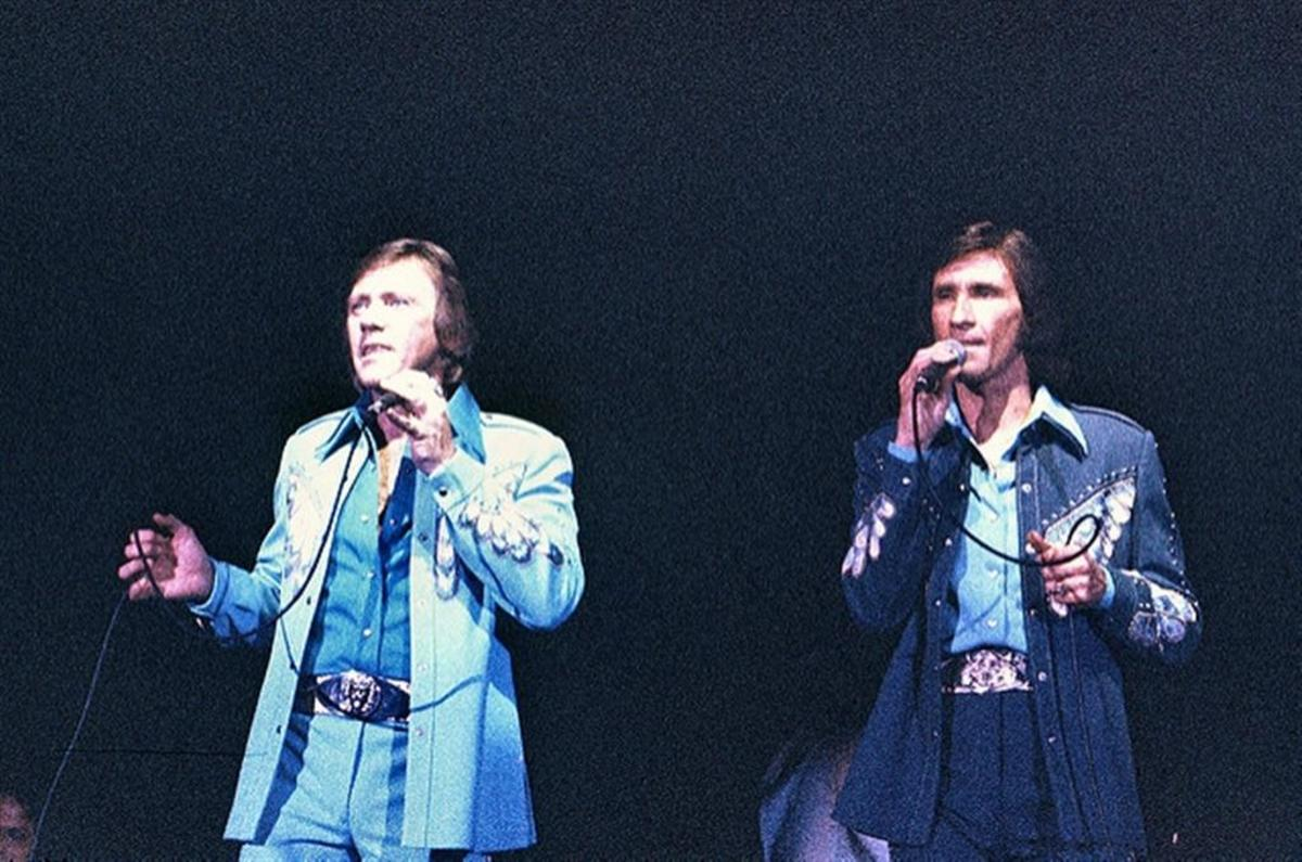 The Righteous Brothers. Photo taken at Knott's Berry Farm.