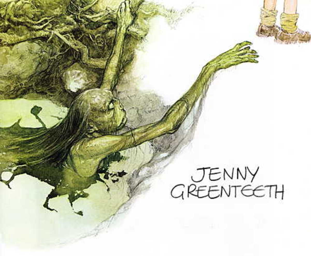 Jenny Greenteeth: A Very Wicked Witch