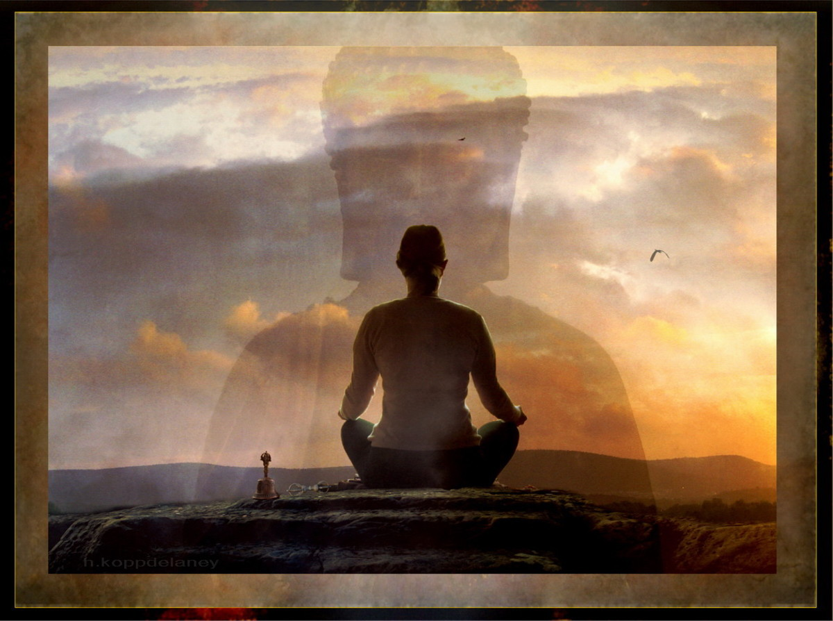 Meditation can be beneficial for anyone suffering with anxiety.