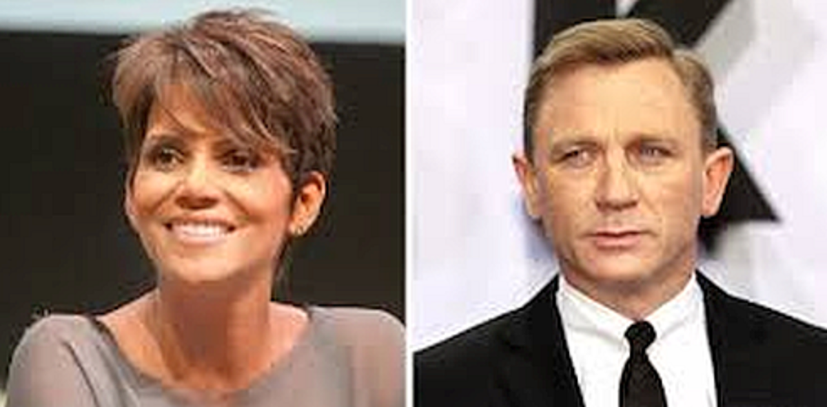 Many celebrities were homeless such as Halle Berry and Daniel Craig.