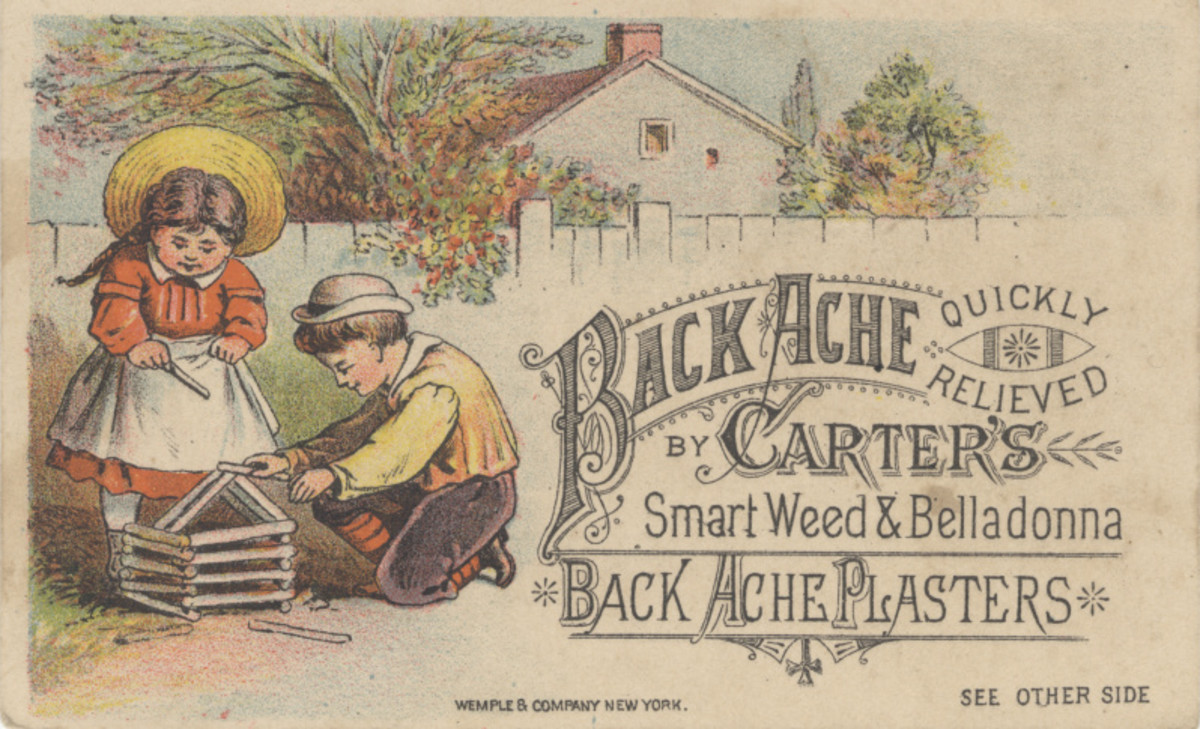 Patent Medicine in the 1800's