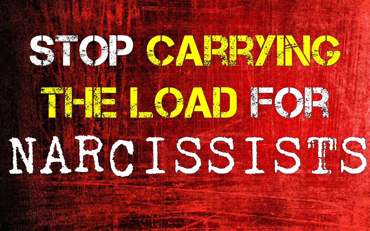 Stop Carrying the Emotional Baggage for Narcissists