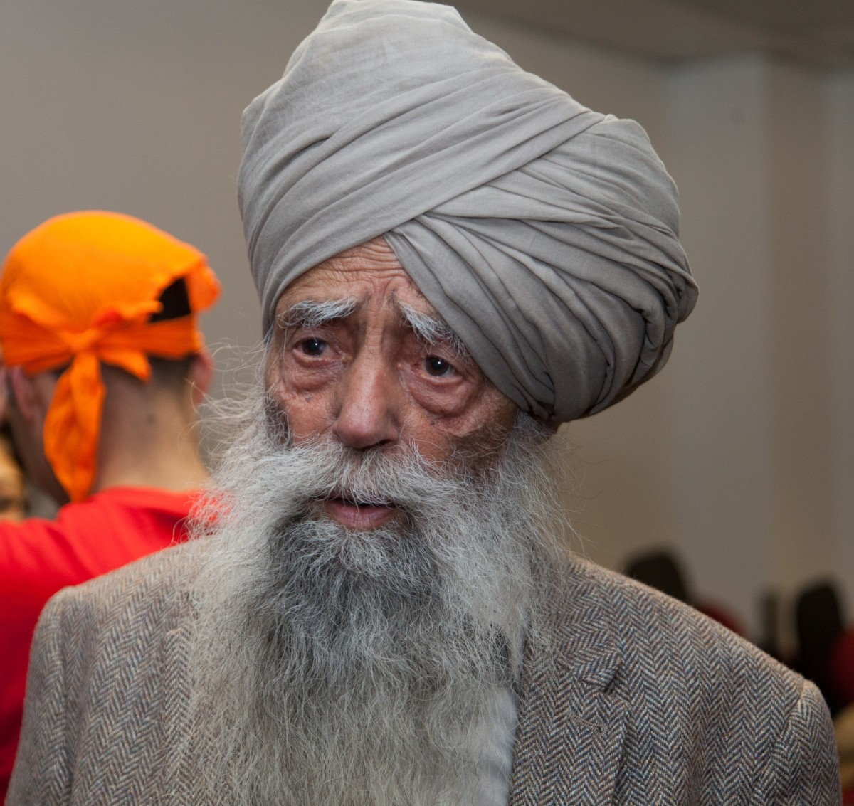 Fauja Singh took up long distance running at the age of 81 and ran his last marathon at the age of 104 before retiring from the sport in 2013.