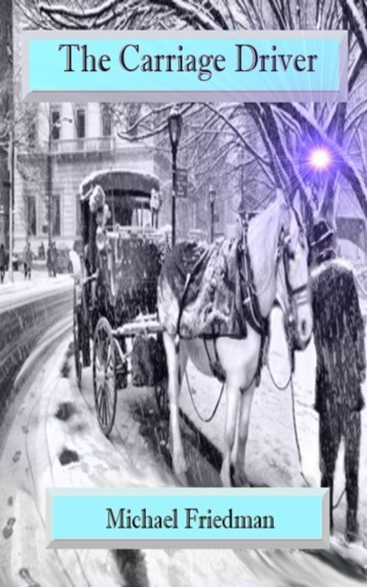Poetry Month, April 2018: 3-Poem Tribute to 'The Carriage Driver' Series by Michael Friedman; the Author; White Horses