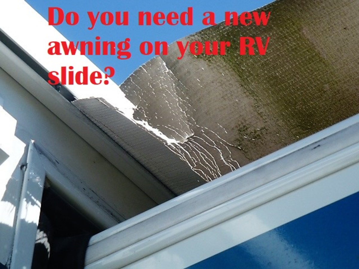 Awnings won't last forever, but are not difficult to replace, either.