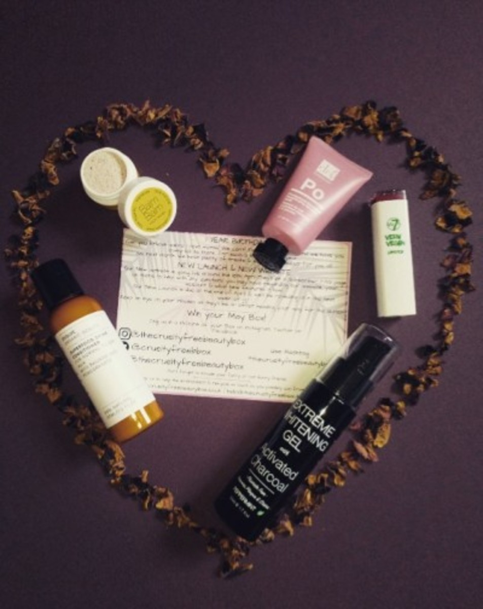 Review of the Cruelty Free Subscription Beauty Box From April 2018